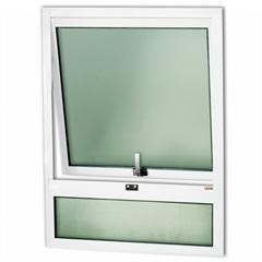 Janela Maxim-Ar com Bandeira em Alumínio Confort 80x60cm Branca - Brimak