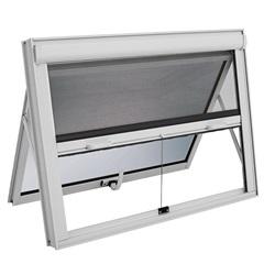 Janela Maxim-Ar com Tela Mosquiteiro Integrada Alumifort 60x100cm Branca - Sasazaki
