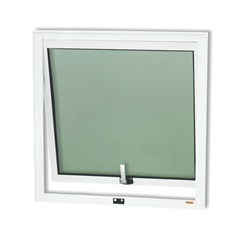 Janela Maxim-Ar em Alumínio Confort 60x60cm Branco Brilhante - Brimak
