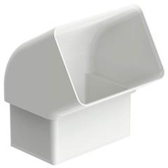 Joelho 60° Retangular Aquapluv Style Branco - Tigre
