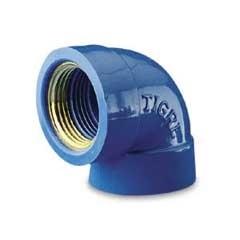 """Joelho com Bucha de Latão 1/2""""X20mm Azul - Tigre"""