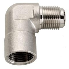 Joelho de 90° para Instalação de Gás Niquelado  - Blukit