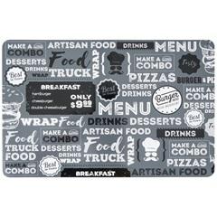 Jogo Americano Pvc Print Food Truck 28x44cm - Copa & Cia