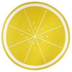 Jogo Americano Redondo Frutas Limão 38cm - Top Flex