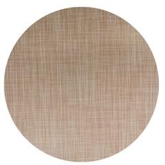 Jogo Americano Textilene 45 X 30cm Circle Bege - Uzoo