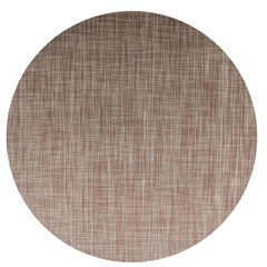 Jogo Americano Textilene 45 X 30cm Circle Marrom - Uzoo
