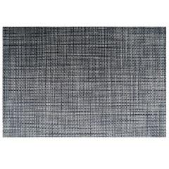 Jogo Americano Textilene 45 X 30cm Preto - Uzoo
