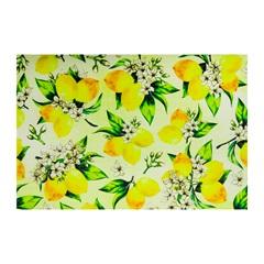 Jogo Americano Textilene 45x30cm Arte Limão Amarelo - Uzoo