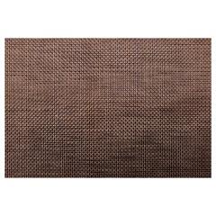 Jogo Americano Textilene 45x30cm Brunch Marrom - Uzoo