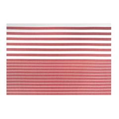 Jogo Americano Textilene 45x30cm Casual Vermelho - Uzoo