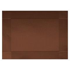 Jogo Americano Textilene 45x30cm Colore Marrom - Uzoo