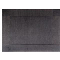 Jogo Americano Textilene 45x30cm Colore Preto - Uzoo
