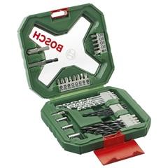 Jogo de Brocas E Pontas X-Line em Metal E Plástico com 34 Peças - Bosch