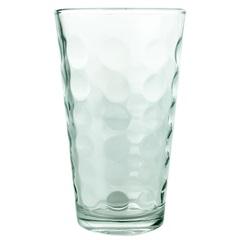 Jogo de Copo de Vidro Agata 6 Peças 470ml Transparente - Euroquadros