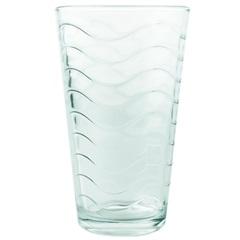 Jogo de Copo de Vidro Onix 6 Peças 470ml Transparente - Euroquadros