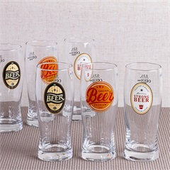 Jogo de Copos de Cerveja em Vidro New Beer 300ml com 6 Peças - Casa Etna