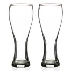 Jogo de Copos de Cerveja em Vidro Pantheon 375ml com 2 Peças - Casa Etna