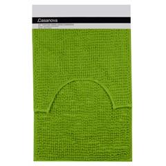 Jogo de Tapetes para Banheiro Popcorn 40x60cm Verde - Casanova
