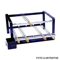 Kit 2005 para Churrasqueira de Alvenaria em Inox - Giragrill