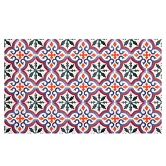 Kit Adesivo Ladrilho Cores 15x15cm Colorido com 18 Peças - Casa Etna