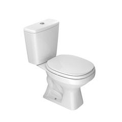 Kit Bacia com Caixa Acoplada Aspen + Assento Sanitário Branco