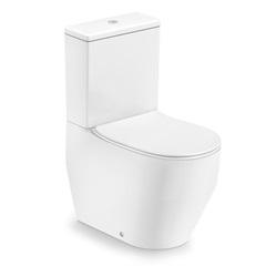 Kit Bacia com Caixa Acoplada Laufen Pro 3/6 Litros + Assento Sanitário em Polipropileno Branco - Laufen
