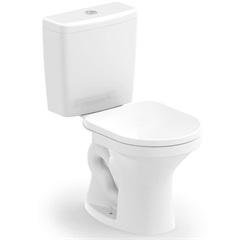 Kit Bacia com Caixa Acoplada Net 3/6 Litros + Assento Sanitário Branco