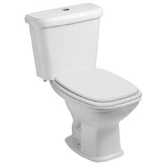Kit Bacia Sanitária E Assento Soft Close com Caixa Acoplada Fit Plus Branco - Celite