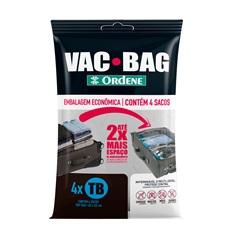 Kit com 4 Sacos para Armazenamento a Vácuo Trip Vac Bag - Ordene