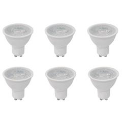 Kit com 6 Lâmpadas Led Dicróica Mr16 4,9w Bivolt 6500k Luz Branca - Empalux