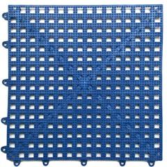 Kit com 6 Tapetes em Pvc Acqua Kap 30x30cm Azul Royal  - Kapazi