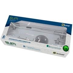 Kit de Acessórios para Banheiro Slim com 5 Peças Cromado - Sicmol