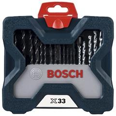 Kit de Acessórios X-Line com 33 Peças - Bosch