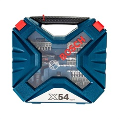Kit de Acessórios X-Line com 54 Peças Multiuso - Bosch