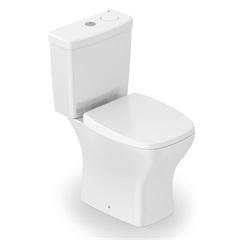 Kit de Bacia Sanitária E Caixa Acoplada Vip com Acessórios Branco