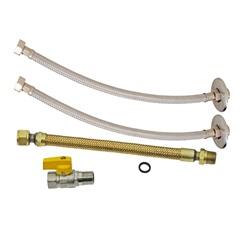 Kit de Instalação para Aquecedor a Gás Dn15 1/2''X30cm