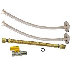 Kit de Instalação para Aquecedor a Gás Dn15 1/2''X40cm - GTRES