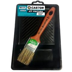 Kit de Pintura Pinturas & Reparos com 7 Peças - Castor