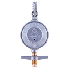 Kit de Regulador de Gás com Mangueira de 120cm Cromado - Aliança