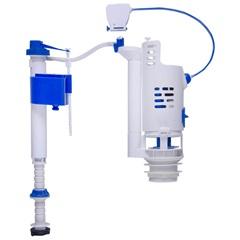 Kit Mecanismo Completo Universal com Duplo Acionamento Branco - Astra
