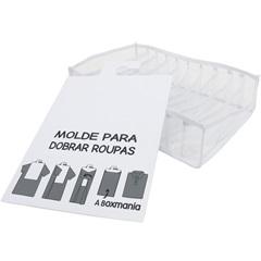 Kit Organizador Colmeia para Camisa 30x24x10cm Branco - Boxgraphia