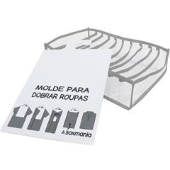 Kit Organizador Colmeia para Camisa 30x24x10cm Cinza - Boxgraphia