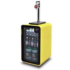 Kit Torre de Chope para Cervejeira E Cervejeira Frost Free com Wi-Fi 110v Amarela - Kit