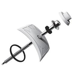 Kit Vedação E Fixação Colonial 18x15cm Branco com 10 Peças - Permatti