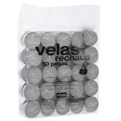 Kit Vela Brigite Branca com 50 Peças - Casa Etna