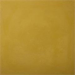Ladrilho Hidráulico Liso Amarelo 20x20x1,9cm 1 Peça - Cimartex