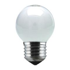 Lâmpada Bolinha Leitosa 40w 110v Branca - Taschibra