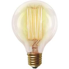 Lâmpada Incandescente com Filamento de Carbono G80 40w 110v 2200k Luz Amarela - Taschibra
