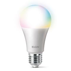 Lâmpada Inteligente Led Bulbo a60 Smart Color Wi-Fi 10w Rgb - Elgin