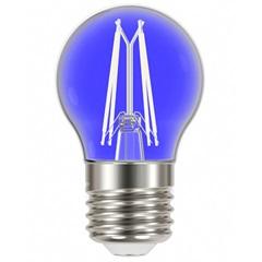 Lâmpada Led com Filamento Color Bolinha G45 4w Autovolt Luz Azul - Taschibra